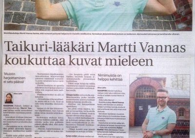 Taikuri-lääkäri Martti Vannas koukuttaa kuvat mieleen